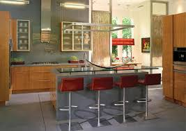 eco friendly kitchen design combined with contemporary high end