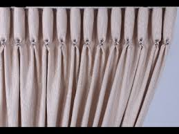 French Pleated Drapes Goblet Pleat How To Make A Goblet Pleat Curtain 200mm Tape For A