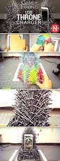 a diy game of thrones iron throne phone charger