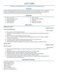 Armed Security Guard Resume Incredible Resume For Security Guard 8 Guard Resume Resume Example