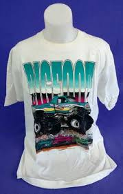 bigfoot monster truck vintage shirts monster