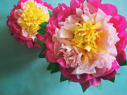 paper flower how to make a tissue paper flower a dazzling tutorial