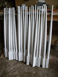 Wooden Banister Spindles Architectural Wood Turnings Balusters