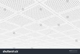 Acoustic Ceiling Tiles 3d Rendering Stock Illustration 462696280