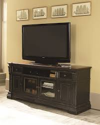 Living Room Armoire Furniture Black Tv Armoire With Dvd Stand And Storage By Hammary