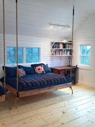 Suspended Bed Frame Embracing The Wall Hanging Bed Design For A Creative Bedroom