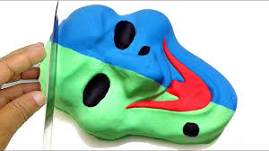 halloween masks for kids diy how to make kinetic sand halloween mask cake learn colors fun