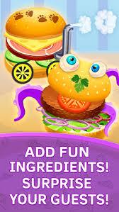 jeux de cuisine pour bébé faire des hamburgers jeux de cuisine pour bebe dans l app store