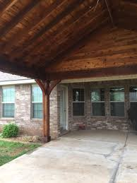 cedar patio cover west texas patios