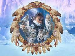 native american wolf wallpaper free wallpapersafari