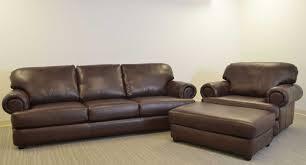 Chair And A Half With Ottoman Titan Sofa U2039 U2039 The Leather Sofa Company