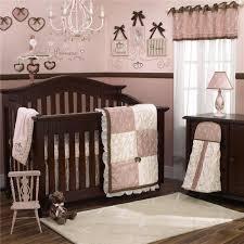 Pink Cheetah Crib Bedding Nursery Beddings Pink And Brown Crib Bedding Walmart With Pink