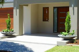 Front Entrance Landscaping Ideas Landscaping Perth Vicki U0027s House Modern Entry Perth By