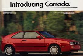 Car Face Plants Volkswagen Corrado 1988 To 1995