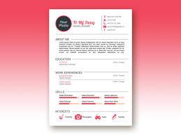 Resume Design Template Personal Resume Cv Design Template Creatily Market