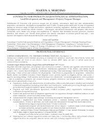 Construction Project Manager Resume Example by Resumes Contract Administrator Examples Intensive Care
