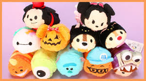 halloween monsters inc tsum tsum haul halloween 2016 u0026 monsters inc disney store japan