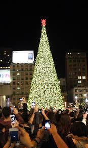 san francisco tree lighting 2017 christmas tree sf mobawallpaper