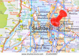 seattle map seattle map stock images royalty free images vectors