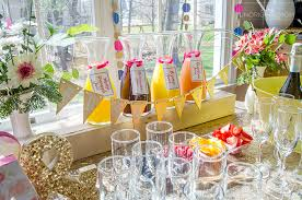 brunch bridal shower ideas how to create a bridal shower mimosa bar unoriginal