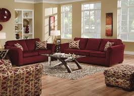 Leather And Tapestry Sofa Burgundy Dinning Rooms Na U475ac Atlantis Burgundy Accent Chair