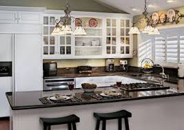 Kitchen White Cabinets Black Countertops Kitchen White Cabinets Dark Floors Home Design Ideas
