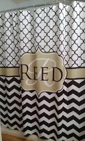 about monogram shower curtain handbagzone bedroom ideas