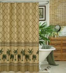 Duck Shower Curtains Kona Palm Tree Tropical Shower Curtain