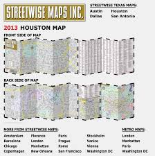 New Orleans Convention Center Map by Streetwise Houston Map Laminated City Center Street Map Of