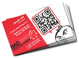 Business Card With Qr Code Business Cards Short Run Printing