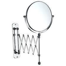 Extendable Magnifying Bathroom Mirror Extendable Magnifying Bathroom Mirror Best Wall Mirrors Ideas On