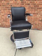 belmont barber chair ebay