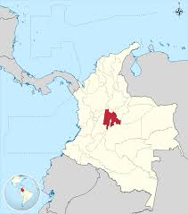 Bogota Colombia Map South America by Cundinamarca Department Wikipedia