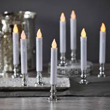 Window Candle Lights Lights Com Flameless Candles Taper Candles White 7