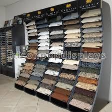 esposizione piastrelle scaffale di esposizione supporto della parete delle mattonelle