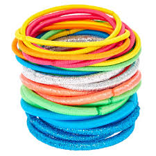 hair ties neon rainbow hair ties s us