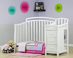 3 In 1 Mini Crib On Me Casco 3 In 1 Mini Crib And Dressing Table Combo White