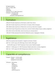 Curriculum Vitae Resume Definition by Francais Cv Resume College Application Essay