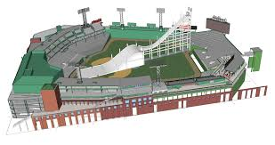 3d printed fenway park printed printable coloring pages free download big air event coming to fenway park sons of sam horn fenway bigair rendering