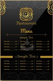indian menu template 28 images indian restaurant stock images