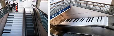 People Under The Stairs The La Song by 10 Amazing Piano Stairs From Around The World