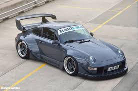widebody porsche 993 rwb x vad number one rauh welt begriff pinterest cars