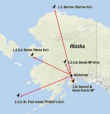 Nome Alaska Map by Alaska U2013 The Pribilof Islands 2018