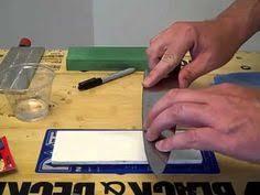 how to sharpen kitchen knives mancove sandpaper sharpening knife sharpening