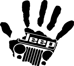 jeep grill logo about