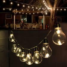 Light Bulb String Outdoor 2m Edison Bulbs String Led Light Outdoor Garden