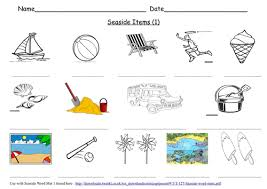 best ideas of seaside holidays in the past ks1 worksheets for your