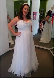 empire waist plus size wedding dress new dress alert 2 informal wedding dresses strut bridal