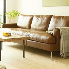 semi aniline leather sofa 15 the best aniline leather sofas