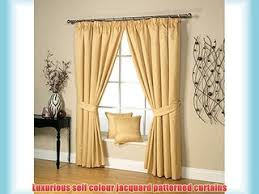 Gold Curtains 90 X 90 Iliana Eyelet Velvet Fully Lined Praline Curtains By Kylie Minogue